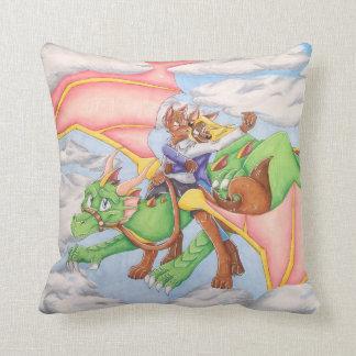 Alcance para la almohada del dragón de las nubes