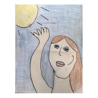 Alcance para la postal de Sun