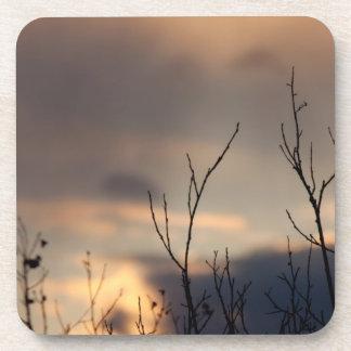 Alcance para la puesta del sol posavaso