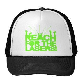 Alcance para los lasers gorras
