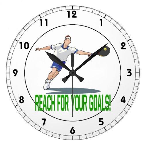 Alcance para su Goals.png Reloj Redondo Grande