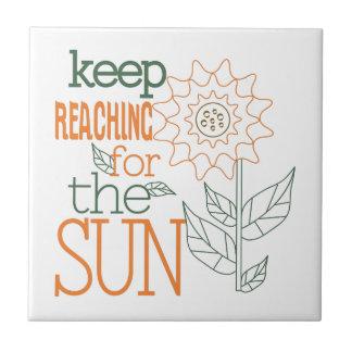 Alcance para Sun Azulejo Cuadrado Pequeño