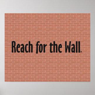Alcance SUPERIOR para la pared Póster
