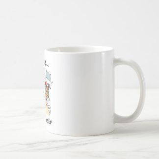 Alcanzar el top taza de café
