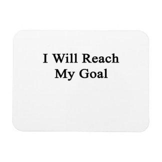 Alcanzaré mi meta imán flexible