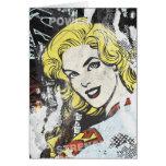 Alcaparras cómicas 1 de Supergirl Tarjetón