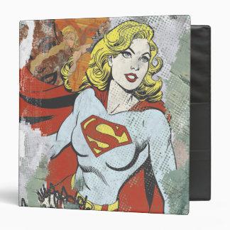 "Alcaparras cómicas 2 de Supergirl Carpeta 1 1/2"""