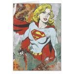 Alcaparras cómicas 2 de Supergirl Felicitación