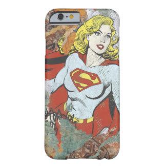 Alcaparras cómicas 2 de Supergirl Funda Barely There iPhone 6