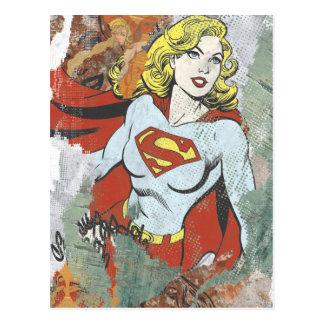 Alcaparras cómicas 2 de Supergirl Postales
