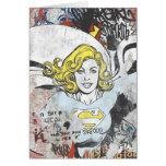 Alcaparras cómicas 3 de Supergirl Tarjeta