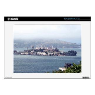 Alcatraz Acer Chromebook Calcomanía