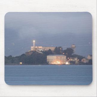 Alcatraz at Dawn Mouse Mat