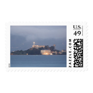 Alcatraz at Dawn Stamp