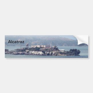 Alcatraz Etiqueta De Parachoque