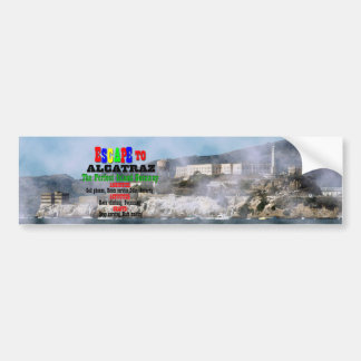 Alcatraz Pegatina Para Coche