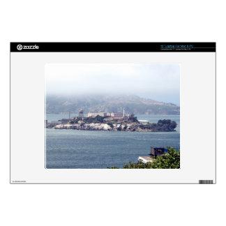 Alcatraz Calcomanía Para Portátil