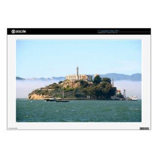 Alcatraz Calcomanías Para 43,2cm Portátiles