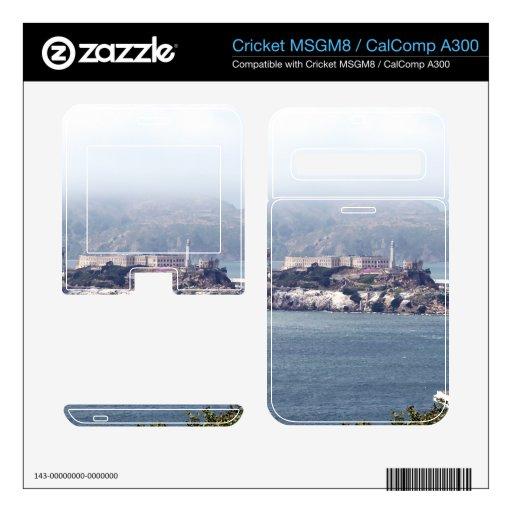 Alcatraz Calcomanías Para Cricket MSGM8