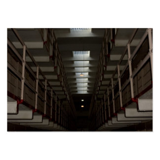 Alcatraz Cell Block - Upper Level Large Business Cards (Pack Of 100)