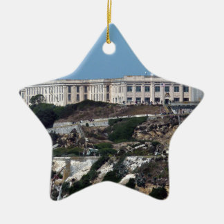 Alcatraz Ceramic Ornament