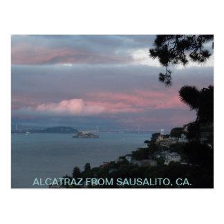 ALCATRAZ DE SAUSALITO, CA - POSTAL