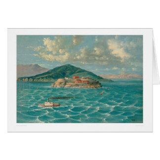 Alcatraz en San Francisco Bay (1856A) Felicitacion