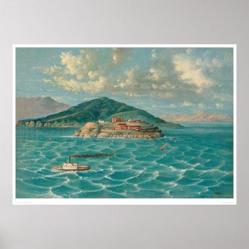 Alcatraz en San Francisco Bay (1856A) Impresiones