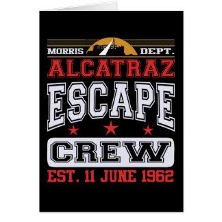 Alcatraz Escape Crew (Est. 11 June 1962) Card