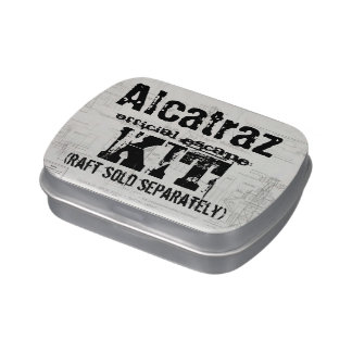 Alcatraz escape kit island punch jelly bellies candy tins