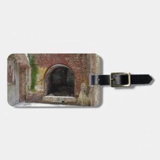Alcatraz Firepit Luggage Tag