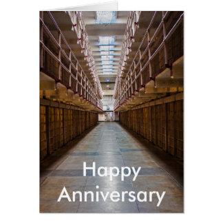 Alcatraz Happy Anniversary card