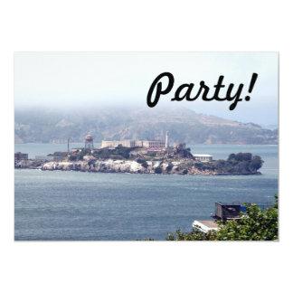 """Alcatraz Invitación 5"""" X 7"""""""