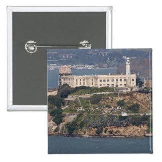 Alcatraz Island 2 2 Inch Square Button