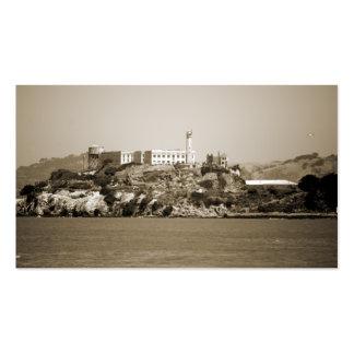 Alcatraz Island Business Card