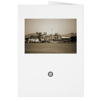 Alcatraz Island Card