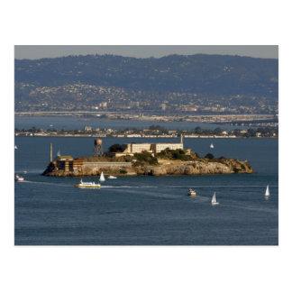 Alcatraz Island in San Francisco  Bay Area Postcard