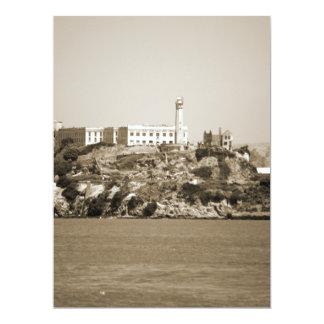 Alcatraz Island Personalized Announcement