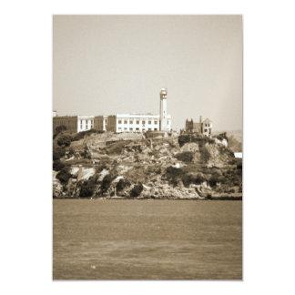Alcatraz Island Custom Invites