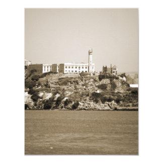 Alcatraz Island Personalized Invitations