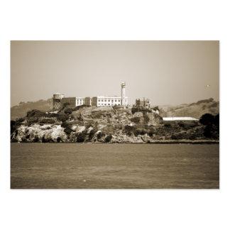 Alcatraz Island Large Business Card