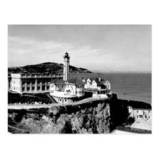 Alcatraz Island Lighthouse Post Cards