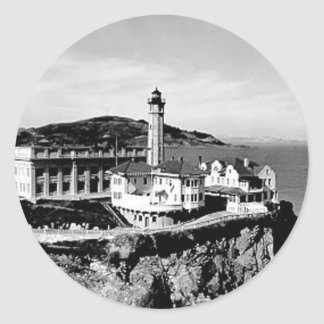 Alcatraz Island Lighthouse Sticker