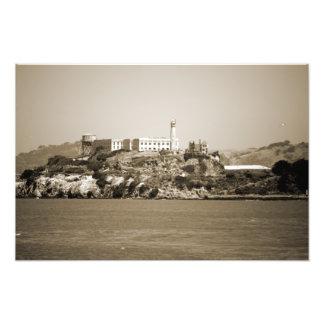 Alcatraz Island Art Photo
