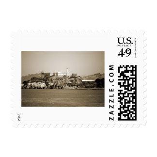 Alcatraz Island Postage Stamp