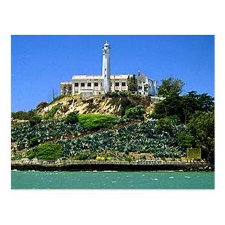 Alcatraz Island Post Card