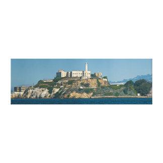 Alcatraz Island Prison San Francisco Bay Canvas Print