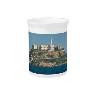 Alcatraz Island Prison San Francisco Bay Drink Pitcher