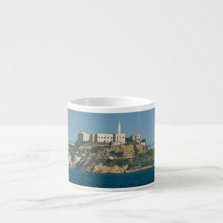 Alcatraz Island Prison San Francisco Bay Espresso Mugs