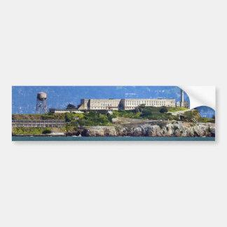 Alcatraz Island Prison San Francisco Panorama Bumper Sticker
